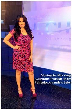 Look del día de @webbcarolina9 by Amandas Salon, Mia Voga y Promise Shoes - El Salvador #AsíSomosOnline #ElSalvador #Look #Moda #Belleza #AmandasSalon #RoxanaWebb #CélidaMagaña