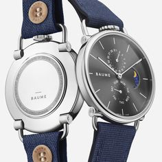 Discover Baume Watches : a unique experience to design your own custom watch. We create eco-friendly watches with minimalist design paired with quality. Communication Methods, French Signs, Tomorrow Will Be Better, Moon Phases, Make Time, Smart Watch, Watches For Men, Band, Smartwatch