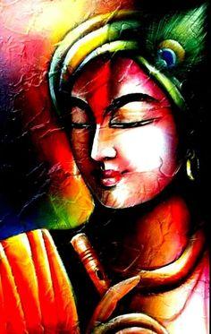 Mural Painting, Texture Painting, Painting Gallery, Woman Painting, Shiva Art, Krishna Art, Lord Krishna, Shree Krishna, Radhe Krishna