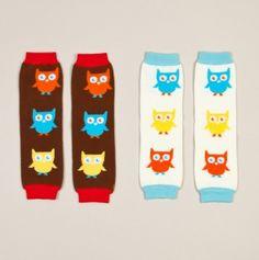 Owls 2 Pack Leg Warmers