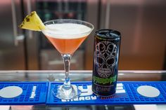 Tropical Sin #cocktail #recipe - Hype Energy offices in Puerto Banús, Marbella. #Tropical Pineapple + #Vodka + AfterDark #Cocktails http://hype.com/cocktails/
