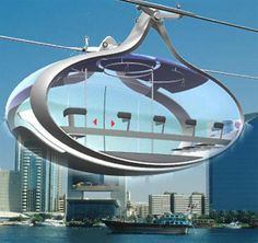 The urban gondolas project is an urban cable propelled transit (CPT) concept that can offer a fast, safe, clean, fun, inexpensive and reliable alternative for in-city traveling - www.northparkecodistrict.com #future #transportation