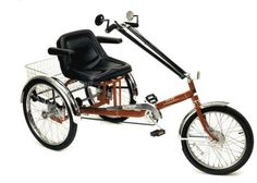 Adult Sport Trike is a tricycle for adults is designed as a semi-recumbent vehicle with a high back, adjustable, thickly padded captains seat. The adult trike is amazingly stable due to clever weight distribution. Bicycle Safety, Bicycle Race, Motorcycle Battery, Motorcycle Helmets, Three Wheel Bicycle, Driving Miss Daisy, Adult Tricycle, Bicycles For Sale, Big Wheel