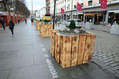 Vil ha spleiselag for å pynte «kloakkrørene» på Karl Johan - Aftenposten