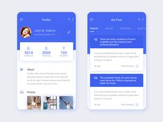 My Post Daily UI by Creative jeff