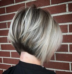 Two-Tone Stacked Inverted Bob