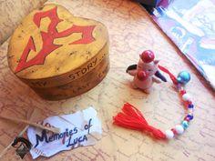 Caja de madera inspirada en Final Fantasy X, caja de madera pintada a mano. Moguri. Caja joyero. Recuerdos de LOKAMIS en Etsy #finalfantasyX #Box #woodenbox #videogame #fansfinalfantasy #craft #imagination #handmade #hechoamano