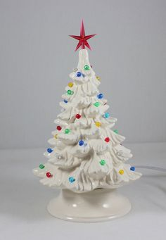450 Best Ceramic Christmas Trees Images In 2019 Christmas Tree