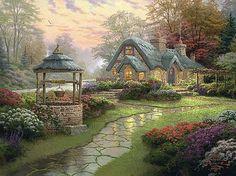 Make A Wish Cottage Cross Stitch PatternLK I SEND door JAYLM2006