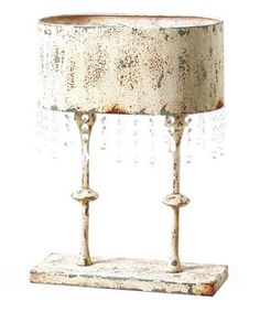 Look what I found on #zulily! White Oval Topiary Lamp #zulilyfinds
