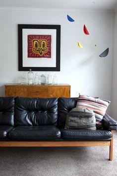 From a tour of designer Kate Alexander's home, on http://blog.endemicworld.com
