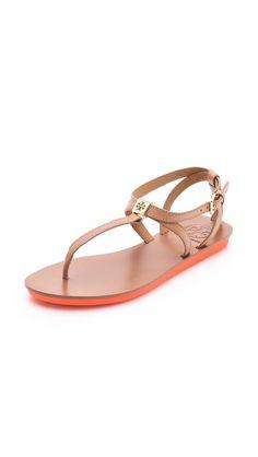 Tory Burch Tricia Flat Sandals