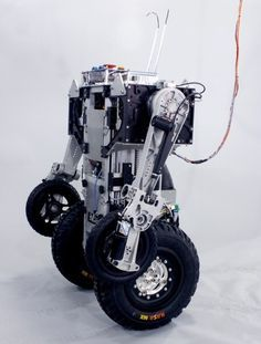 PatrolBots, Jeremy Robbins, Telebots, Urban Warrior Robot, UWR, Florida International University, combat crime, military robot, DARPA, FIU, U.S. Navy Reserves, telepresence robot, bot, Jerry Pratt, Institute for Human and Machine Cognition, IHMC