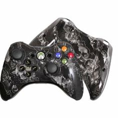 Amazon.com: Custom Xbox 360 Controller Special Edition White Zombie Hazard Evil D-Pad Rechargeable Controller: Video Games #customcontroller #custom360controller #moddedcontroller #Xbox360controller
