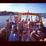 Gordie Shore having fun in Australia with Jet Boat Extreme