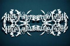 Harry Potter Snowflake Templates