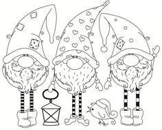 Online Shop Santa Claus stamp Shape Metal Cutting Dies for Scrapbooking DIY Album Embossing Folder Paper Template Decor Stencils Christmas Gnome, Christmas Colors, Christmas Art, Colouring Pages, Coloring Sheets, Coloring Books, Xmas Deco, Christmas Coloring Pages, Christmas Drawing