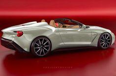 £1.3m Aston Martin Vanquish Zagato Speedster model due in 2018