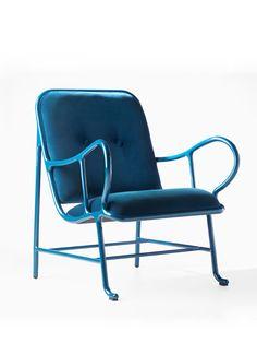 """Poltrona """"Gardenal"""". Designer: Jaime Hayon / BD Barcelona Design."""