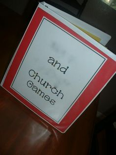 file folder church games