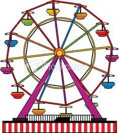 Ferris Wheel | Clipart | Pinterest | Ferris Wheels and Wheels