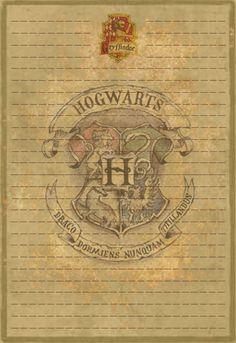Gryffindor Stationery Option2 by Sinome-Rae.deviantart.com on @deviantART