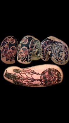 Tattoos by Tabitha Hammercheek at Professional Ink Tattoo Studio Sun Valley CA