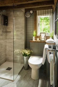 Dreamy luxury woodland cabin in West Sussex: Little Bear Micoley's picks for #luxuriousBathrooms www.Micoley.com