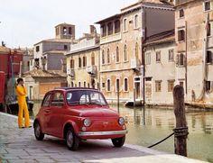 FIAT500 in Venice