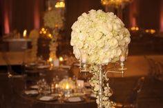 A Modern Glam White Wedding in Beverly Hills: Janay + Eladio