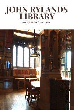 Découvrez la superbe John Rylands Library à Manchester (UK)!