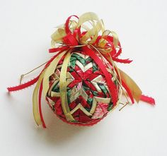 Quilted Ornament by Liz on Etsy