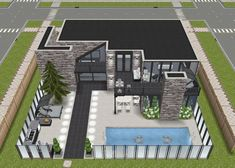 The Sims, Sims 3, Sims Freeplay Houses, Sims House Design, Sims Free Play, Sims House Plans, Home Design Floor Plans, Sims Ideas, Sims 4 Mods