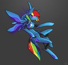 Rainbow Dash 2.0 by StickFigureQueen on deviantART