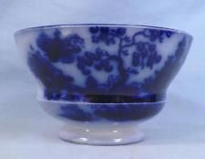 Flow Blue Chapoo Cup Handleless Ironstone Antique