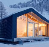 LEAPfactory unveils prefab snowboard school at the foot of Mont Blanc | Inhabitat - Sustainable Design Innovation, Eco Architecture, Green Building