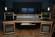 Image of: Recording Studio Desk nice images