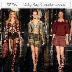 SPFW - Desfile Lilly Sarti - Tendências Primavera/Verão 2015  http://viroutendencia.com/2014/04/04/spfw-primaveraverao-2015-desfiles-do-3-dia/