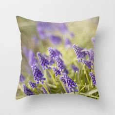 Violet Dreams Throw Pillow by Tracey Krick Photography - $20.00