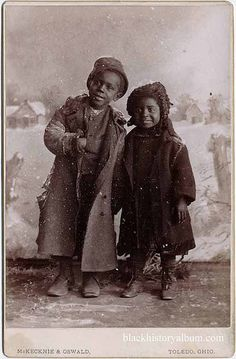 Baby Its Cold Outside | 1890 by Black History Album, via Flickr