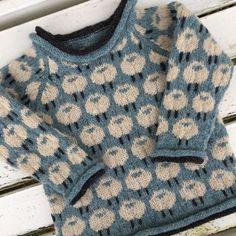 Ribbed Raglan Pullover pattern by Purl Soho Baby Knitting Patterns, Knitting For Kids, Vogue Knitting, Girls Jumpers, Crochet Woman, Crochet Poncho, Baby Cardigan, Lana, Ravelry