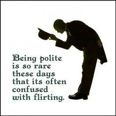 Kohtelias herrasmies vai flirtti?