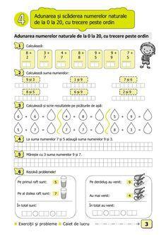 Clasa I. Math For Kids, Crafts For Kids, Math School, Teacher Supplies, School Lessons, Mathematics, Parenting, Classroom, Student