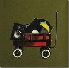 Moved By Music: Archive Vinyl Music, Dj Music, Vinyl Art, Vinyl Records, Music Stuff, Muse Music, Music Power, Techno Music, Dj Shadow