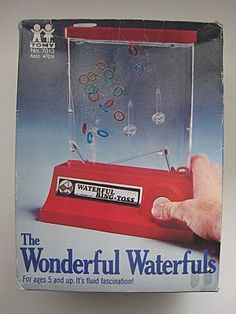 Tomy Waterful Ring-toss - I now need to go find my fill it up and play! Theses NEED to be remade.