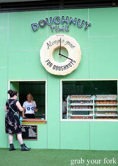 Doughnut Time at Central Park, Clock