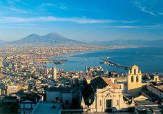 Naples www.pizzocipriaebouquet.com View from Sant'Elmo