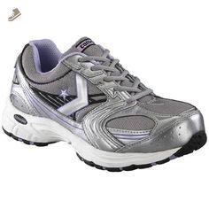 72b03ed88 Women s Composite Toe Converse C448 Cross Trainer Work Shoe Gray   Silver    Purple