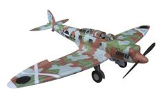This aircraft paper model is a Heinkel He 70 Blitz, a German mail plane and fast passenger aircraft of the 1930s, that also saw use in auxiliary bomber and
