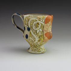handmade ceramic mug coffee